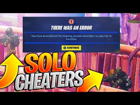 Were These Two Players CHEATING In Solos By Teaming?  You Decide!