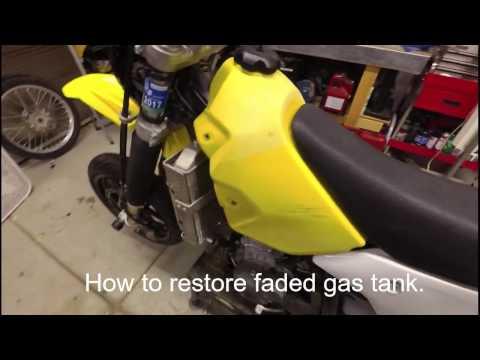 Restore plastic gas tank