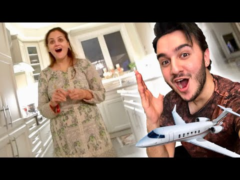 SURPRISED MY MOM (Flying From Pakistan To Canada)