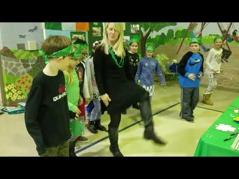 Irish Step Dancing for Millington School International Day