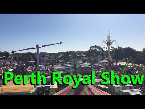 how to plan for perth royal show