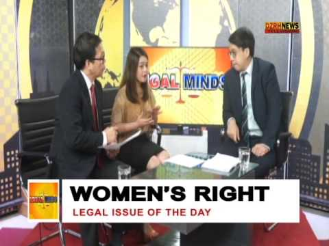 LEGAL MINDS:  WOMEN'S RIGHT