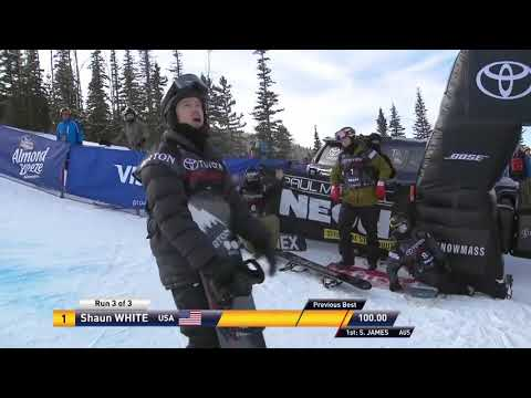Shaun White scores perfect 100 to make Winter Olympics - Chopped and Screwed