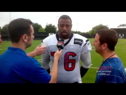 Duane Brown Interview on The Hardline