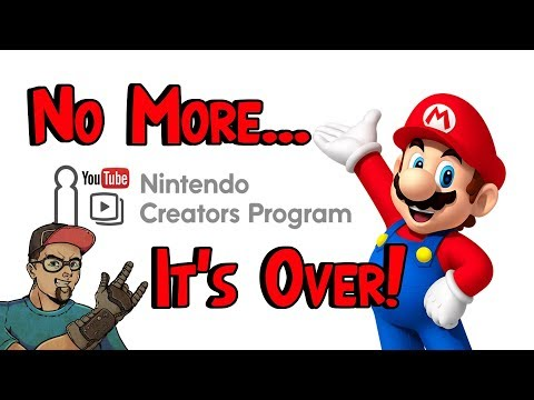 The Nintendo Creators Program Ends! No More Copyright Claims!