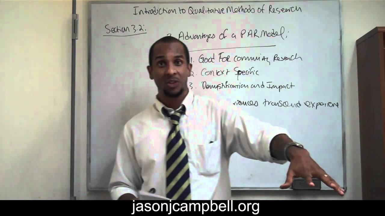 participatory action research methods pdf