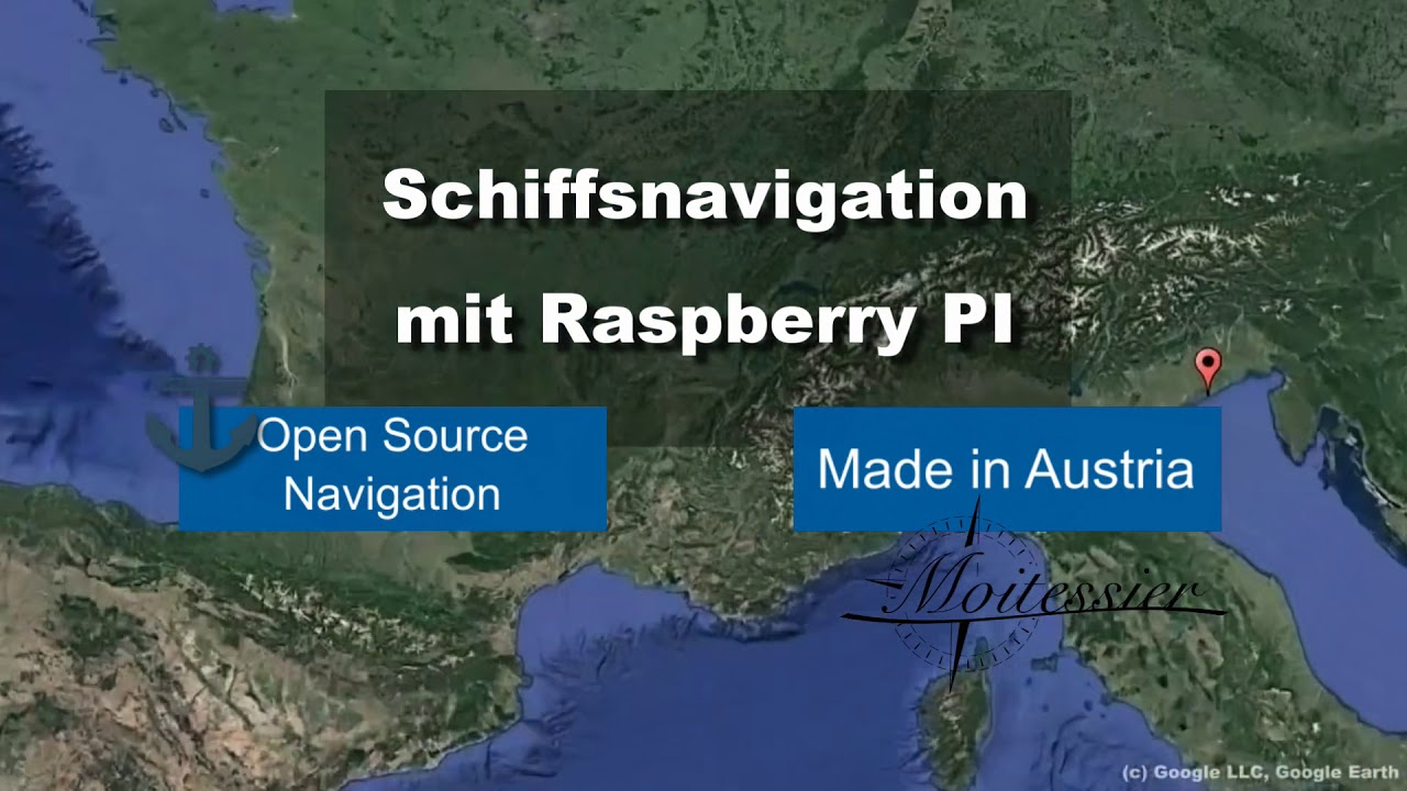 Moitessier HAT - Navigate with Raspberry Pi - csoft Web & IT