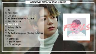 BTS  Jungkook English Song Cover [PLAYLIST]