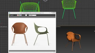 3ds Max - Tutorial - Model Chair  Easy