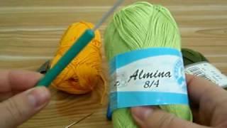Пряжа для ручного вязания. Материалы для вязания крючком.Вязание крючком для начинающих.