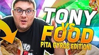 TONY VS FOOD - PROVIAMO IL GYROS KEBAB IN GRECIA W/OHM E FIUS GAMER