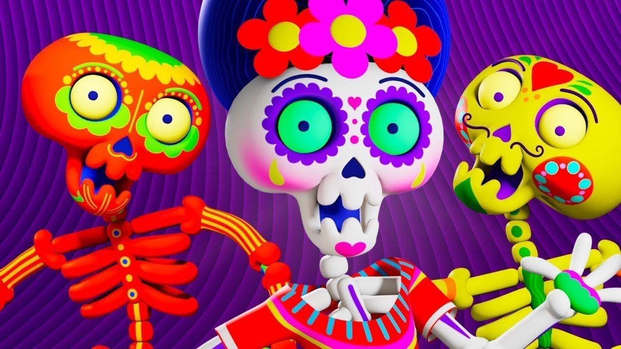 Chumbala Cachumbala 🎃 Las Calaveras Salen de su Tumba 🎃 Canción de Halloween   El Reino Infantil