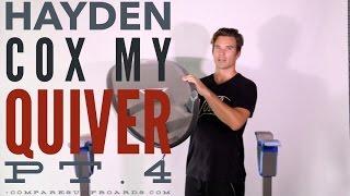 Hayden Cox, My Quiver Pt.4, Haydenshapes Hypto Krypto - no.130 | Compare Surfboards