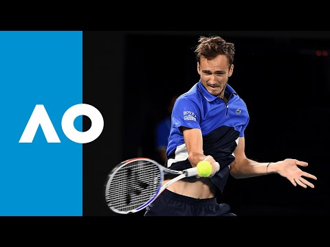 Daniil Medvedev Vs Alexei Popyrin - Match Highlights (3R) | Australian Open 2020