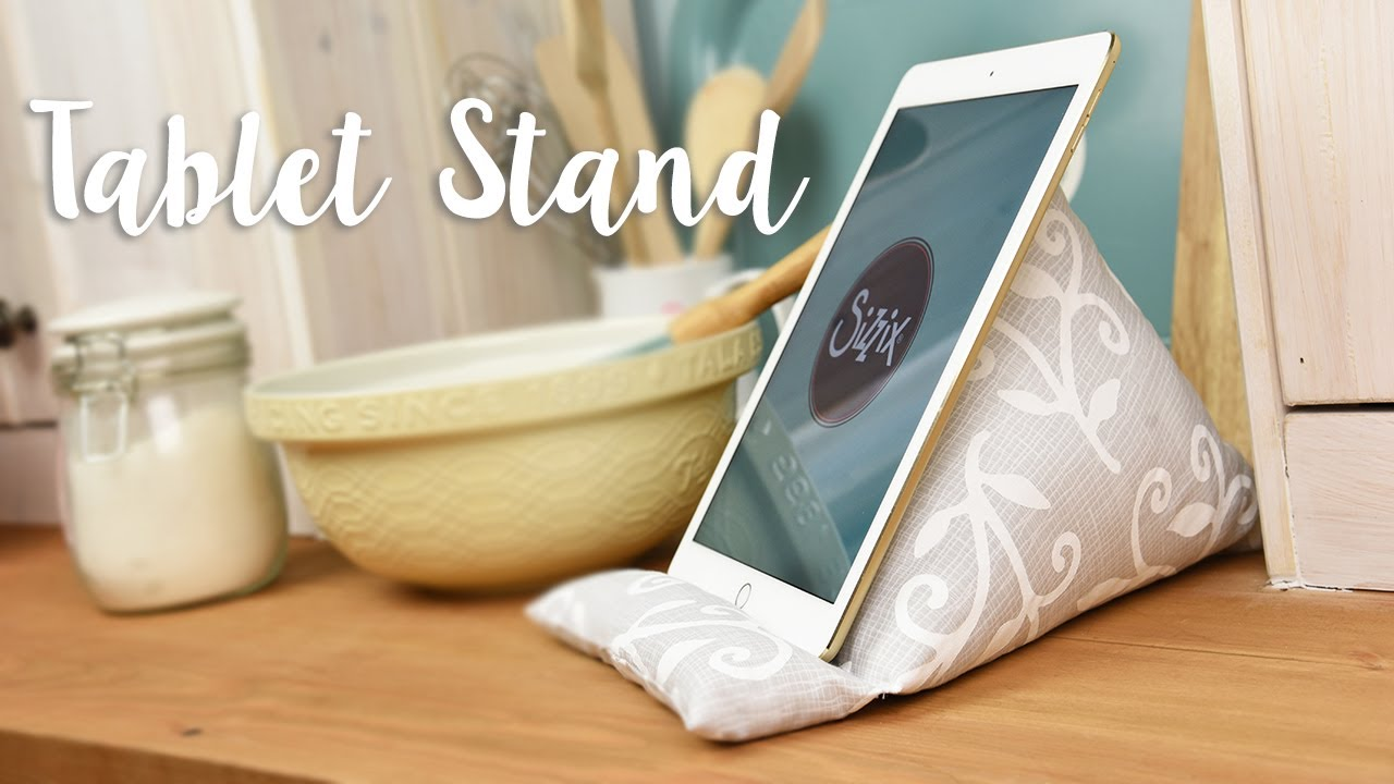 tablet stand quick make