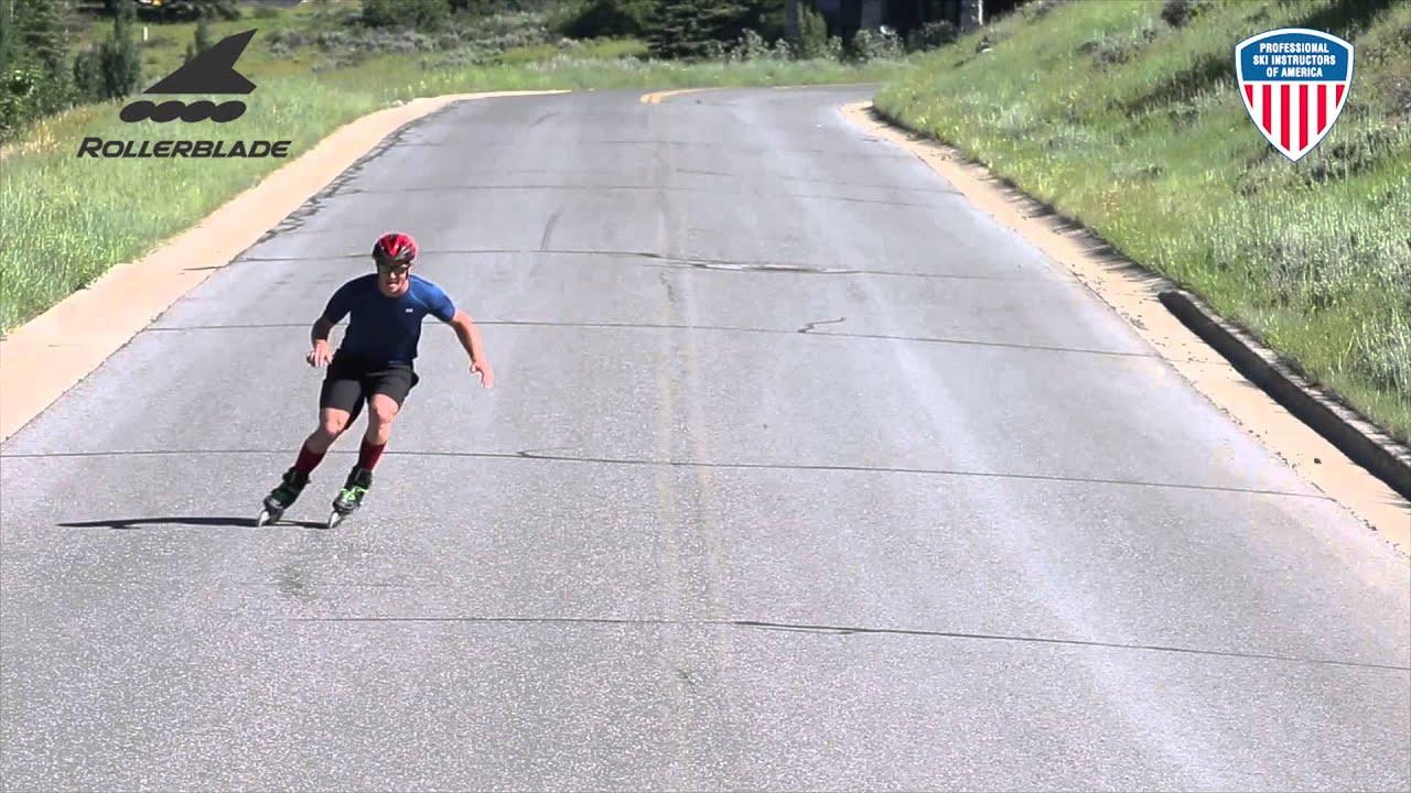 Skate to ski short radius carving youtube