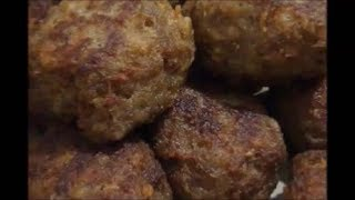 Пьяные котлеты  Cutlets with the addition of alcohol