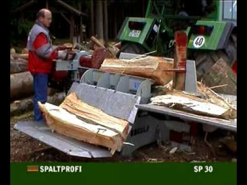holzspalter im einsatz sp 30 hzh youtube. Black Bedroom Furniture Sets. Home Design Ideas