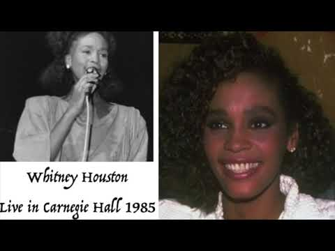 Whitney Houston - Live In Carnegie Hall 1985 - RARE AND REMASTERED