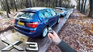 BMW X3 2017 Review POV Test Drive by AutoTopNL
