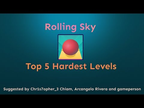 Rolling Sky - Top 5 Hardest Levels