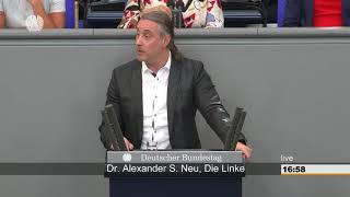 Fluchtursachen dürfen nicht verschwiegen werden - Alexander Neu DIE LINKE im Bundestag