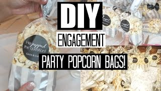 DIY: Engagement Party Favors #1
