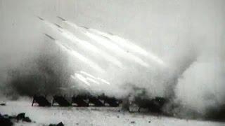 Мощнейшая артиллерийская канонада! Залпы