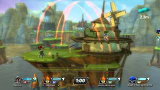 Colonel Radec Gameplay on Sandover Village - PlayStation All-Stars Battle Royale
