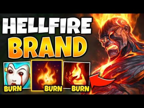 WTF?! ONE SPELL TICKS FOR 50% MAX HEALTH?! HELLFIRE BRAND IS