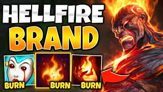 WTF?! ONE SPELL TICKS FOR 50% MAX HEALTH?! HELLFIRE BRAND IS OP! - League of Legends