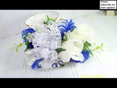 Decorative Corsage Light Blue And Silver Picture Ideas | Corsage Light Blue  Romance