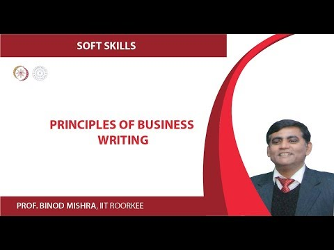 Principles of Business Writing