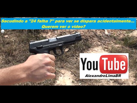 Pistola Taurus 24/7 Pro Tactical em .40 S&W