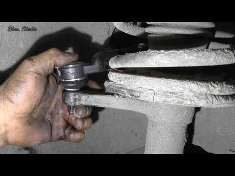 Замена рулевого наконечника ВАЗ 2110