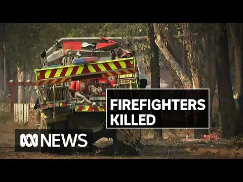 Two Firefighters Killed In Sydney Fire Truck Crash | ABC News