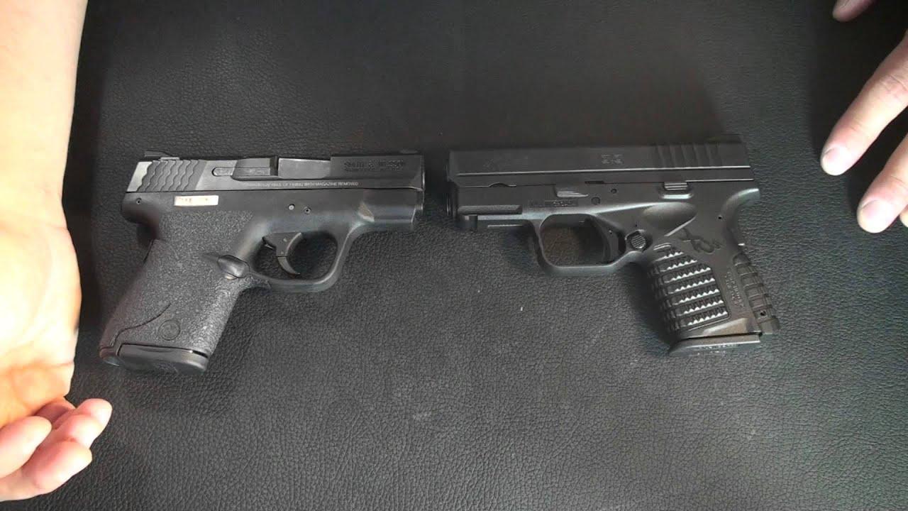 M And P Shield Vs Glock 26 S&W Shield 9mm vs ...
