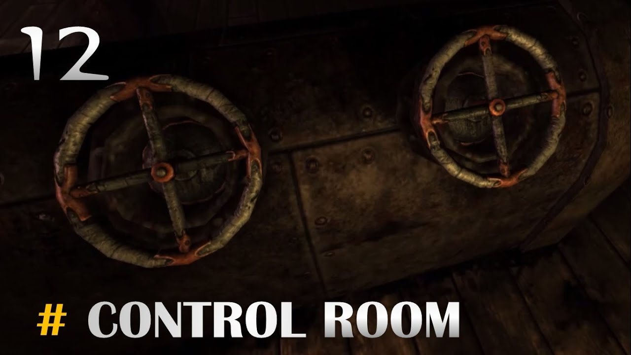 Amnesia The Dark Descent Part 12 Control Room Adjusting The Weight Valve Configuration Youtube