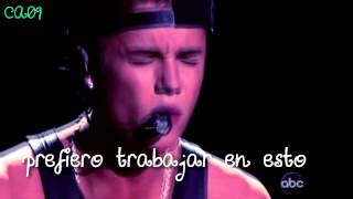 As long as you love me (Acoustic) - Justin Bieber  {En español}