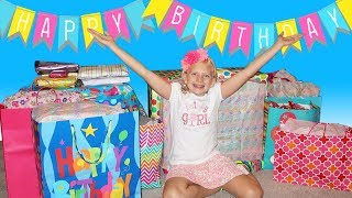 GIANT POOL SLIDE Birthday Party - Alyssa's 11th Birthday!!