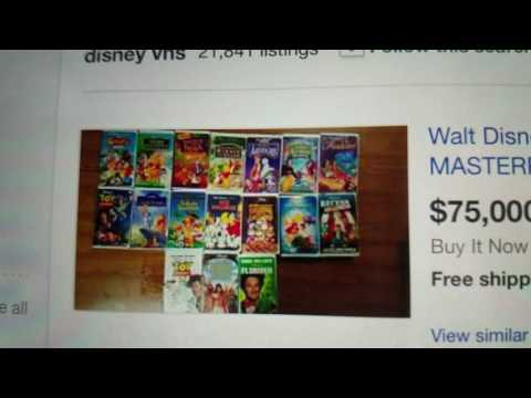 Ebay Disney Black Diamond FAILS! What is with this fad?