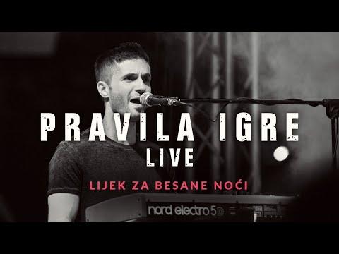 Pravila Igre - Lijek za besane noći LIVE (Velika Gorica - Kako nam stvari stoje tour 2018.)