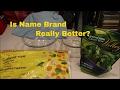 Name Brand VS No Name Frozen Vegetable Comparison 🤔