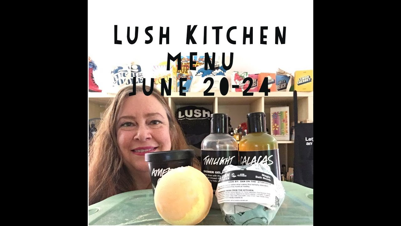 Lush Kitchen Menu Reviews June 20-24 - YouTube