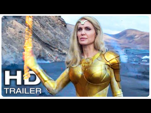 """ETERNALS """"Fight For Our World Is Eternal"""" Trailer (NEW 2021) Marvel Superhero Movie HD"""
