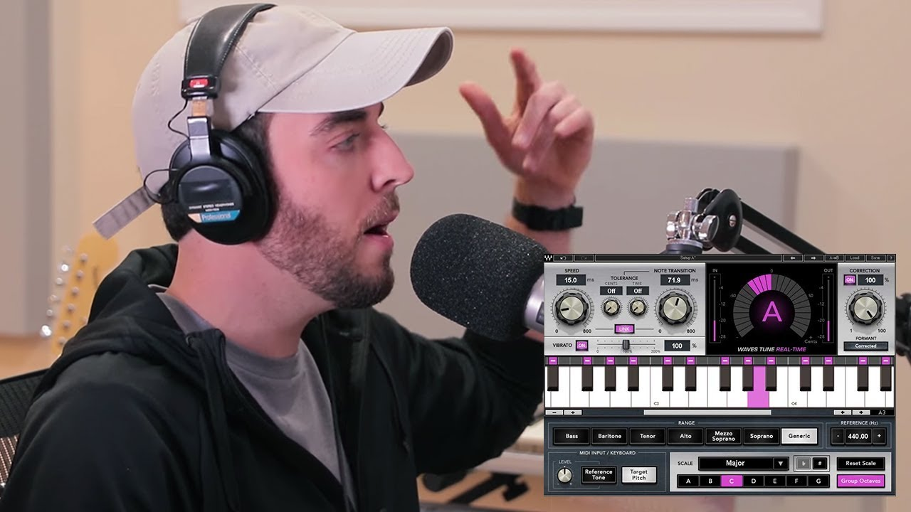 How to Use Vocal Pitch Correction as a Creative Tool