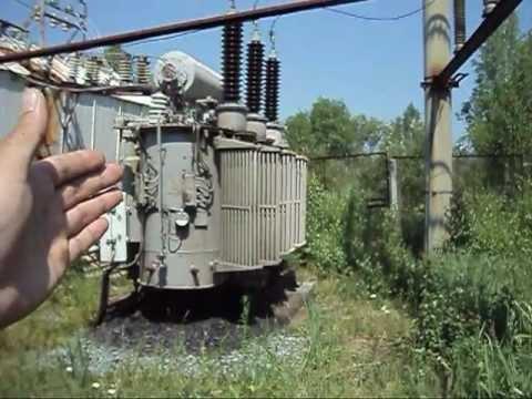 Искуственное КЗ на линии 110 кВ- работа автоматики ОД-КЗ