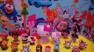 Video Kinder Surprise,surprise eggs unboxing 16 toys HELLO KITTY,smeshariki . download MP3, 3GP, MP4, WEBM, AVI, FLV Januari 2018