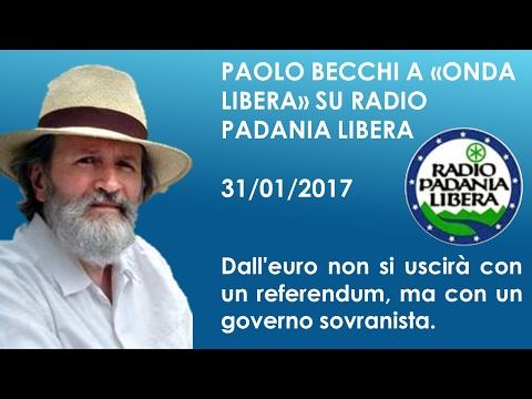 Paolo Becchi: Dall'euro non si uscirà con un referendum, ma con un governo sovranista