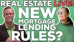 Real Estate Live! | NEW Mortgage Lending Rules | Mortgage Rates | Housing Market 2020